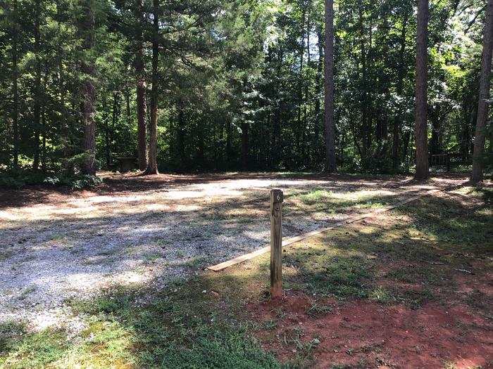 A photo of Site 06 of Loop Woods Ferry at Woods Ferry Campground (SC) with Picnic Table, Fire Pit, Lantern Pole