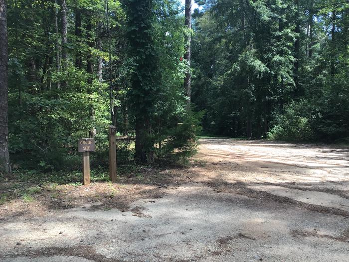 A photo of Site 10 of Loop Woods Ferry at Woods Ferry Campground (SC) with Picnic Table, Fire Pit, Lantern Pole