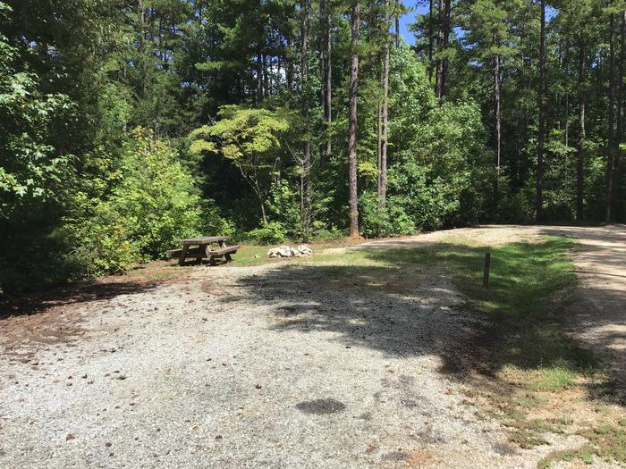 A photo of Site 09 of Loop Woods Ferry at Woods Ferry Campground (SC) with Picnic Table, Fire Pit