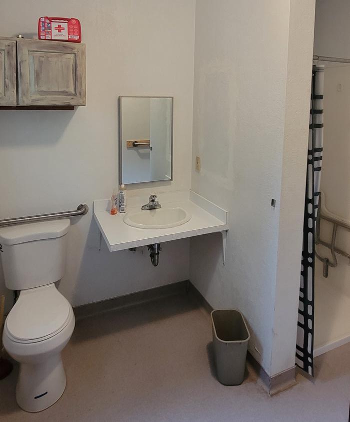 Mammoth Guard Station - Restroom