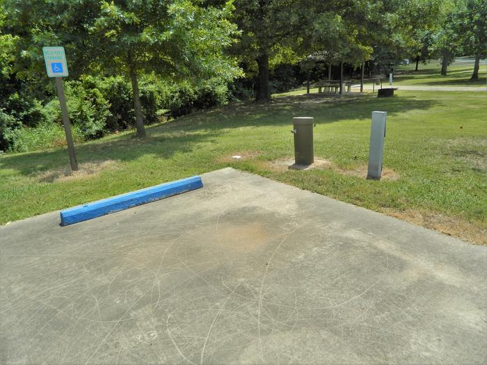 [Handicap Accessible Site] Wilbur D. Mills 21 Breaker Box + Water Spigot