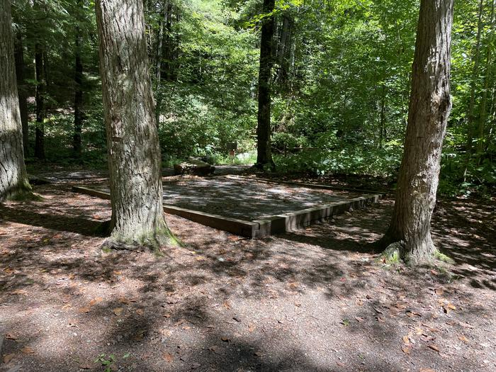 A photo of Site A09 of Loop A at ABRAM'S CREEK CAMPGROUND with Tent Pad