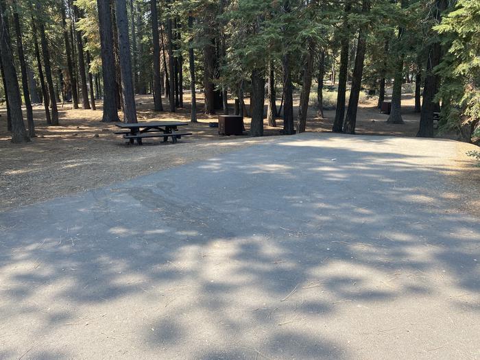 A photo of Site 052 of Loop WILLIAM KENT CAMPGROUND at WILLIAM KENT CAMPGROUND with Picnic Table, Fire Pit, Food Storage