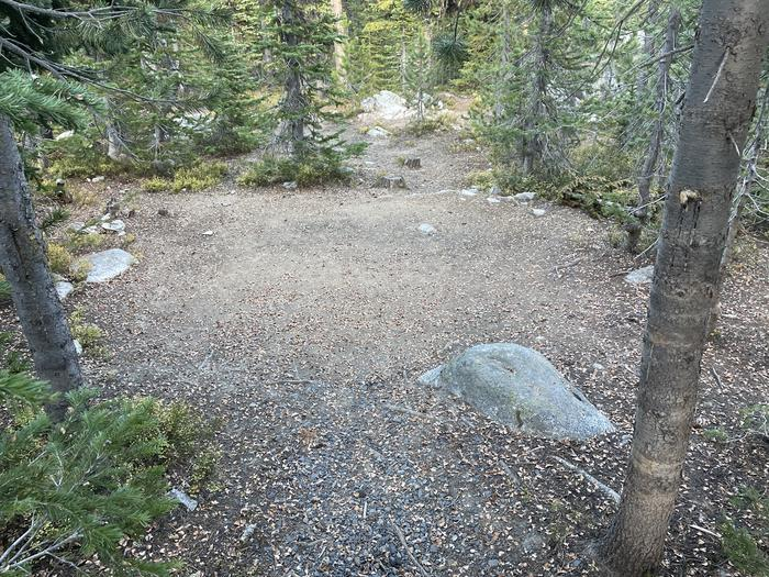 A photo of Site 9 of Loop Anthony Lake at Anthony Lake with Tent Pad