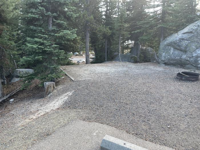 A photo of Site 23 of Loop Anthony Lake at Anthony Lake with Tent Pad