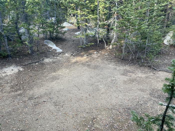 A photo of Site 25 of Loop Anthony Lake at Anthony Lake with Tent Pad