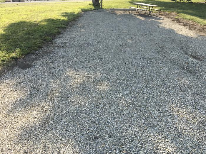 A photo of Site 22 of Loop B at School Creek Camground with Picnic Table, Fire Pit, ShadeA photo of Site 22 of Loop B at School Creek Camground with Picnic Table, raised Fire Pit, Shade