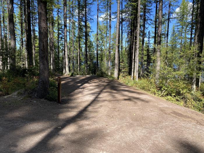 A photo of Site 022 of Loop LID CREEK CAMPGROUND at LID CREEK CAMPGROUND with Picnic Table, Fire Pit