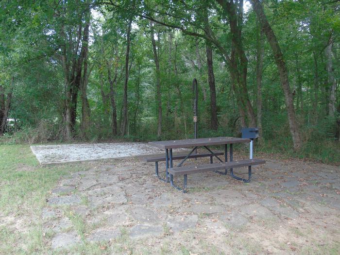 Tyler Bend Main Loop Site# 6