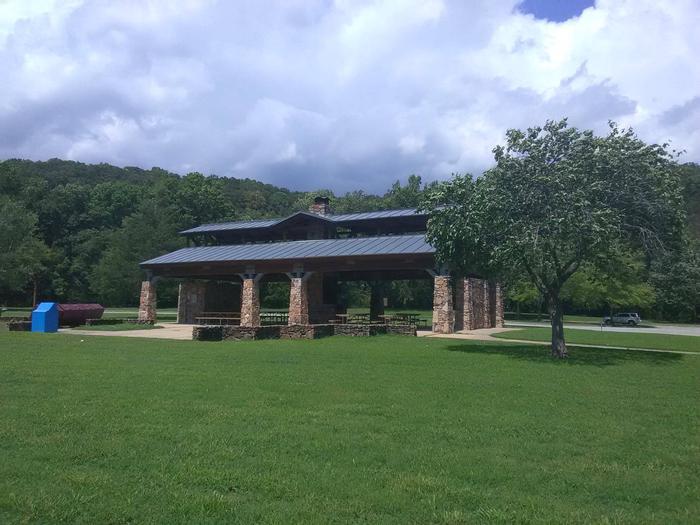 Pavilion at Tyler Bend