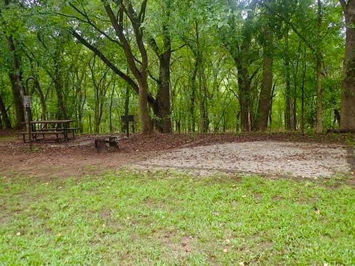 Tyler Bend Walk up Site ITyler Bend Walk-in Site I