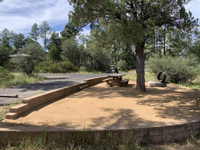 A photo of Site 29 of Loop G at LYNX CAMPGROUND with Picnic Table, Fire Pit