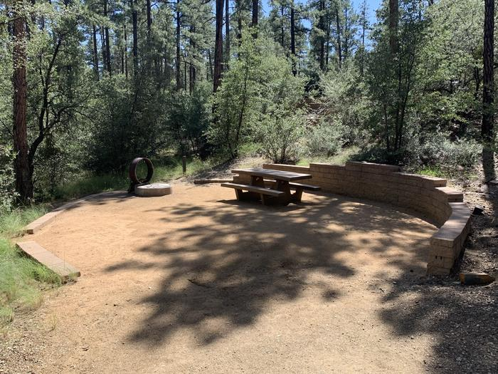 A photo of Site 32 of Loop H at LYNX CAMPGROUND with Picnic Table, Fire Pit