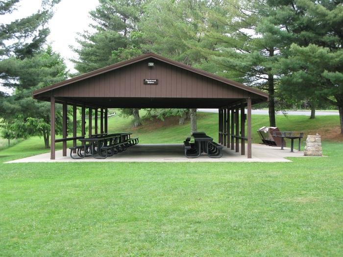 The Playground Shelter at Grandview