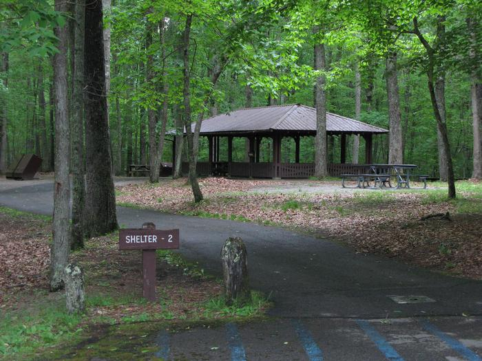 Grandview Shelter 2Shelter 2 at the Grandview Area of New River Gorge National Park & Preserve