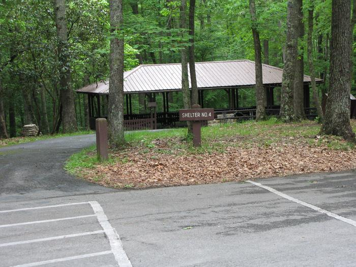 Grandview Shelter 4Shelter 4 in the Grandview Area of New River Gorge National Park & Preserve