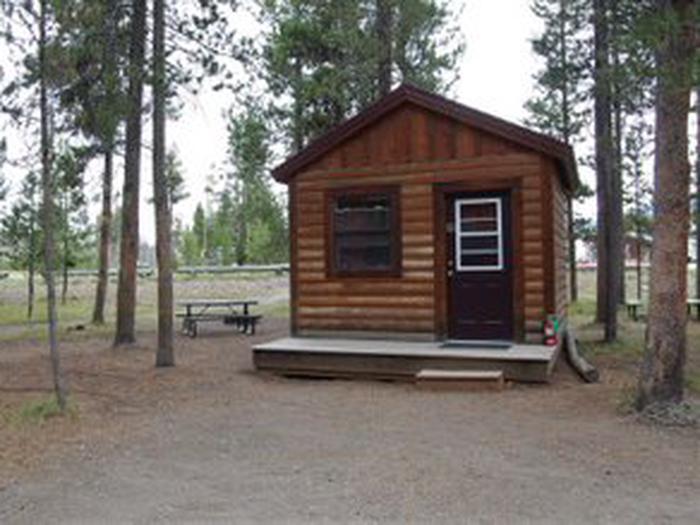 Exterior Camper Cabin 203