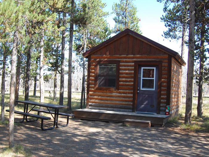 Exterior Camper Cabin 213