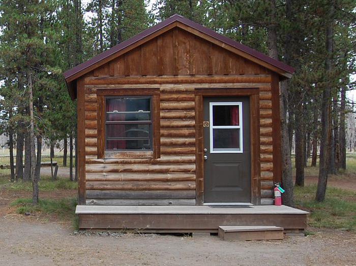 Exterior Camper Cabin 216