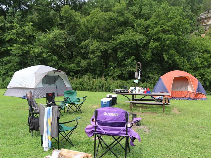Steel Creek Camp Site #3