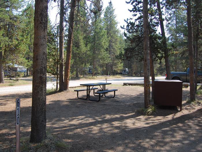 Tent Site 610 Exterior
