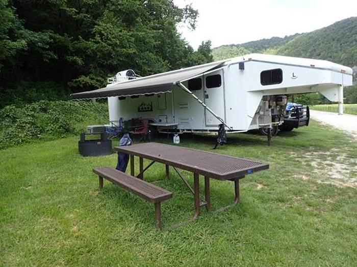 Steel Creek Horse Camp Site #37