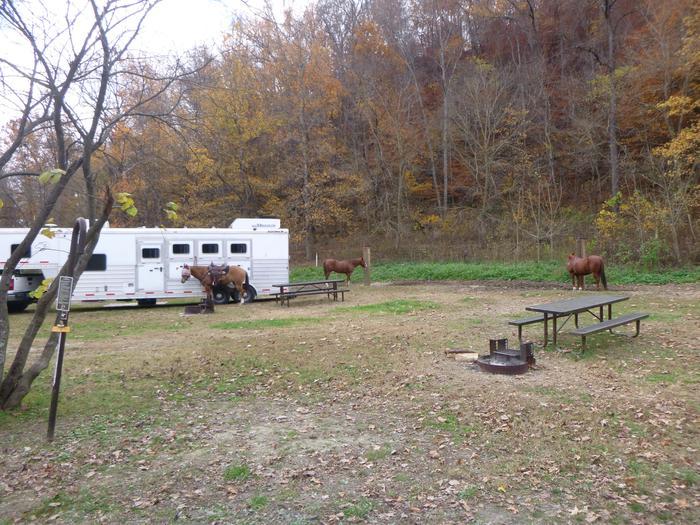 Steel Creek Horse Camp Site #27-5Steel Creek Horse Camp Site #27