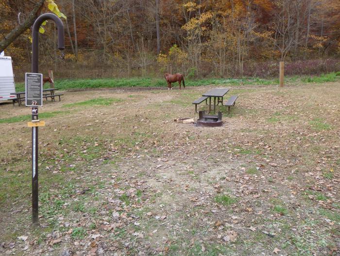 Steel Creek Horse Camp Site #27
