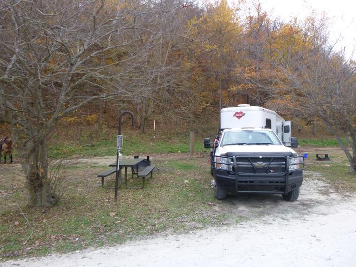 Horse Camp #33Steel Creek Horse Camp Site #33