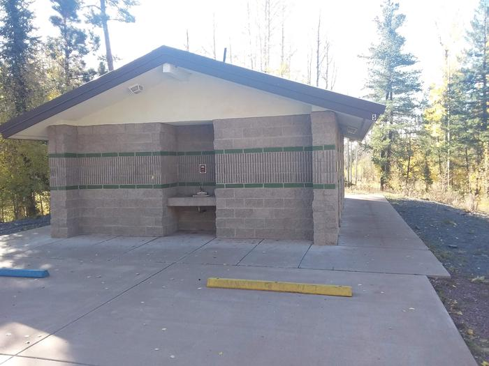 Apache Trout Campground showers