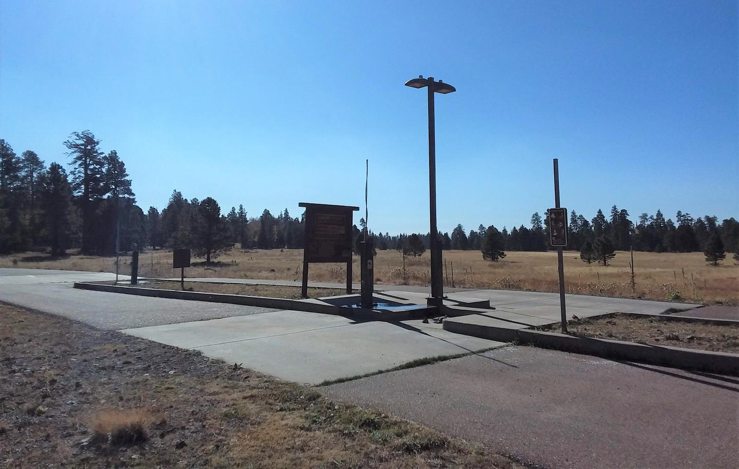 APACHE TROUT CAMPGROUND dump station