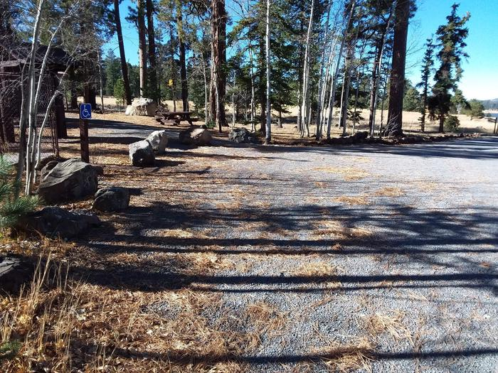 Rainbow Campground Parking Area