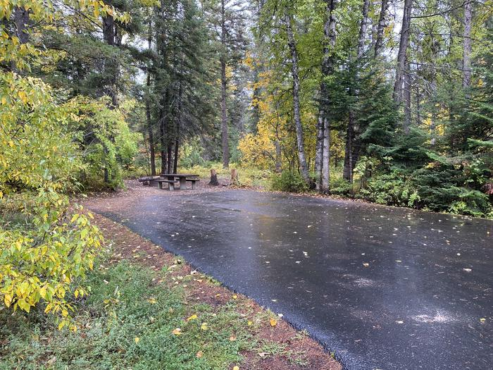 A photo of Site 007 of Loop BIRC at SWAN LAKE CAMPGROUND with Picnic Table, Fire Pit