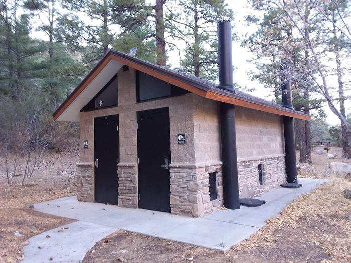 On-site restrooms.