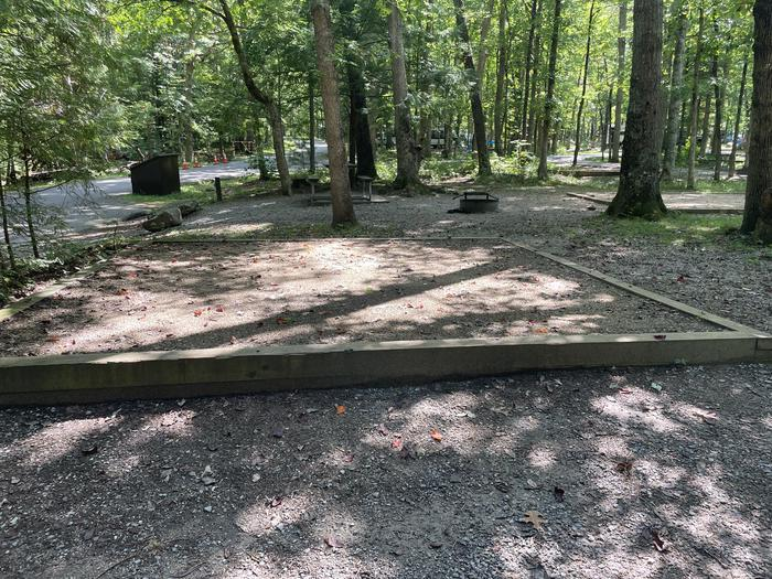A photo of Site C27 of Loop Generator Free loop at CADES COVE CAMPGROUND with Tent Pad