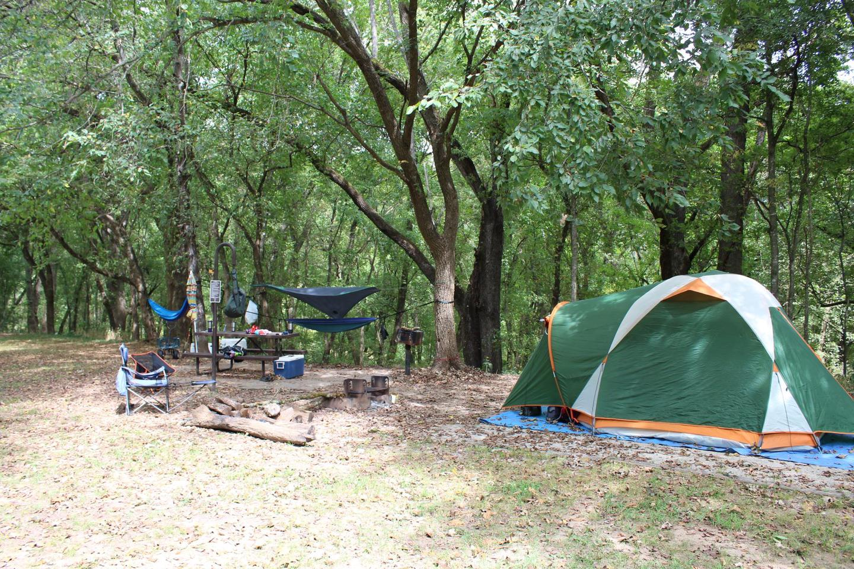 Tyler Bend Walk-in Site I-7Tyler Bend Walk-in Site I