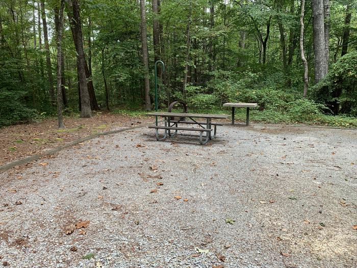 A photo of Site 060 of Loop B at NORTH BEND PARK with Picnic Table, Fire Pit, Lantern Pole