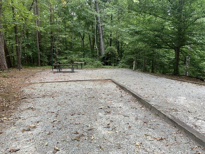 A photo of Site 060 of Loop B at NORTH BEND PARK with Picnic Table, Electricity Hookup, Fire Pit, Lantern Pole, Water Hookup