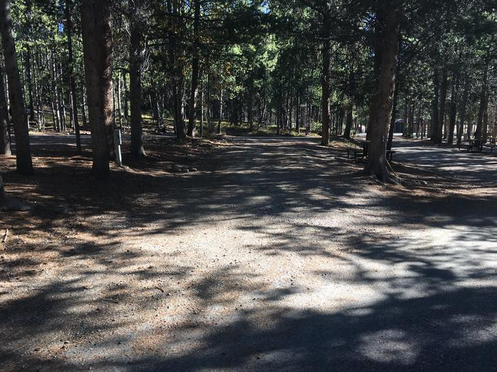 A photo of Site 3 of Loop A at Colter Bay RV Park with Full Hookup