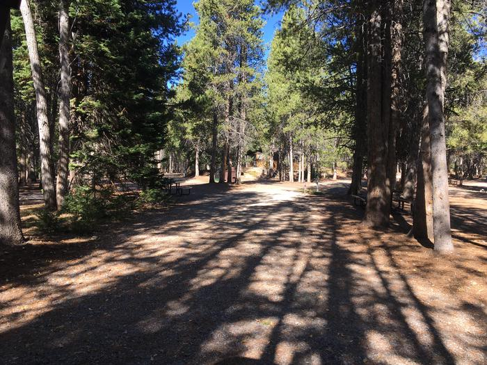 A photo of Site 23 of Loop A at Colter Bay RV Park with Full Hookup