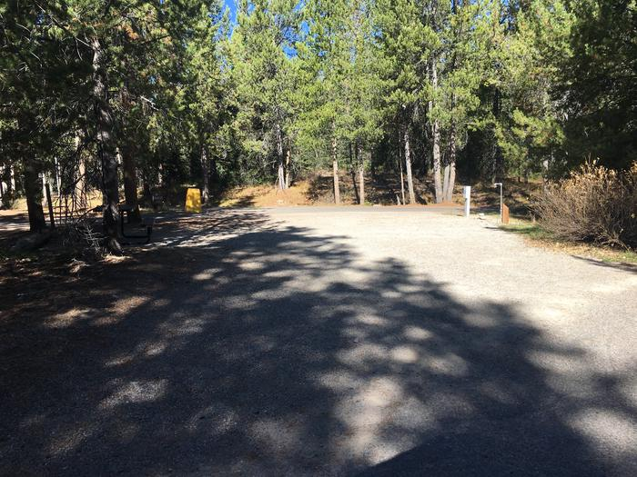 A photo of Site 25 of Loop B at Colter Bay RV Park with Full Hookup