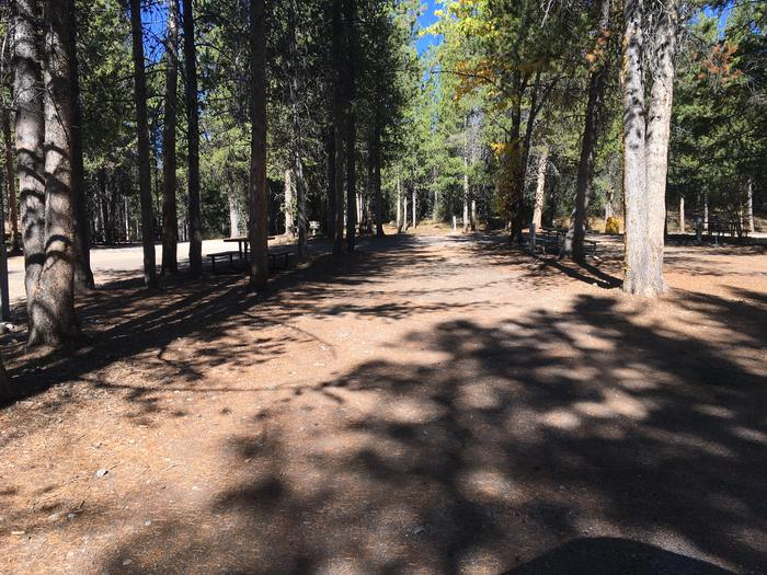 A photo of Site 33 of Loop C at Colter Bay RV Park with Full Hookup