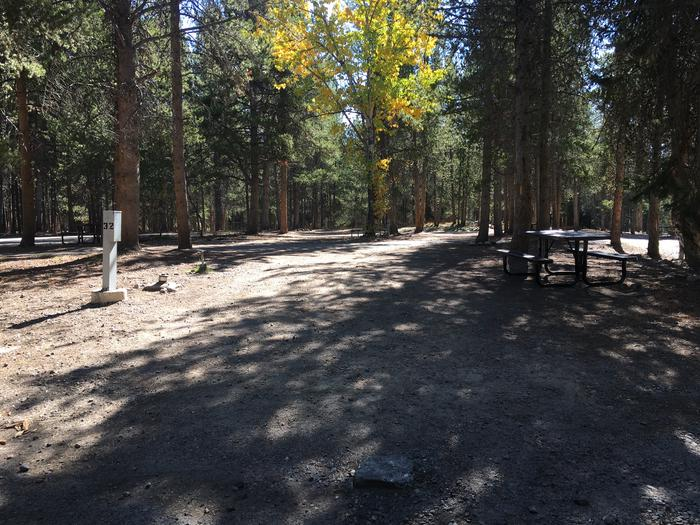 A photo of Site 32 of Loop C at Colter Bay RV Park with Full Hookup