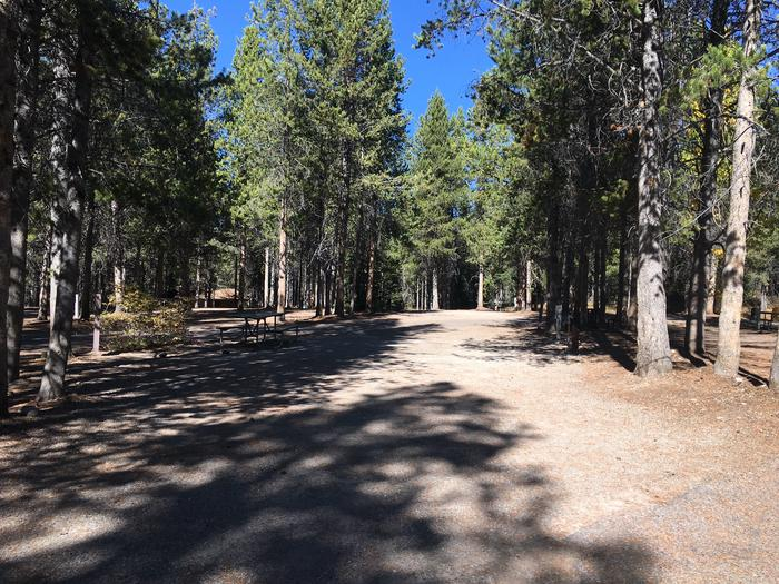 A photo of Site 34 of Loop C at Colter Bay RV Park with Full Hookup