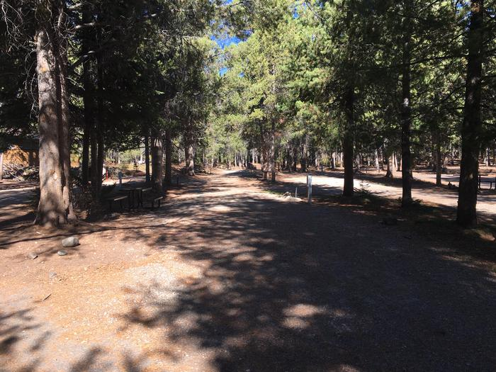 A photo of Site 21 of Loop A at Colter Bay RV Park with Full Hookup