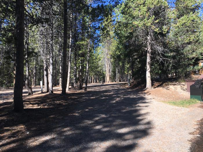 A photo of Site 28 of Loop B at Colter Bay RV Park with Full Hookup