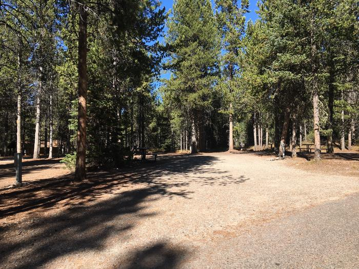 A photo of Site 41 of Loop D at Colter Bay RV Park with Full Hookup