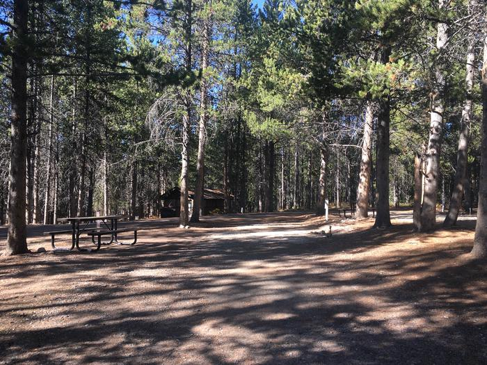 A photo of Site 51 of Loop E at Colter Bay RV Park with Full Hookup