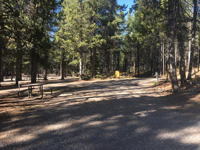 A photo of Site 59 of Loop G at Colter Bay RV Park with Full Hookup
