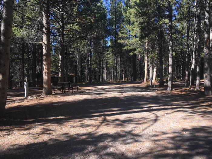 A photo of Site 50 of Loop E at Colter Bay RV Park with Full Hookup